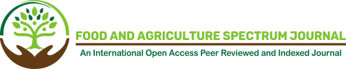 Food and Agriculture Spectrum Journal